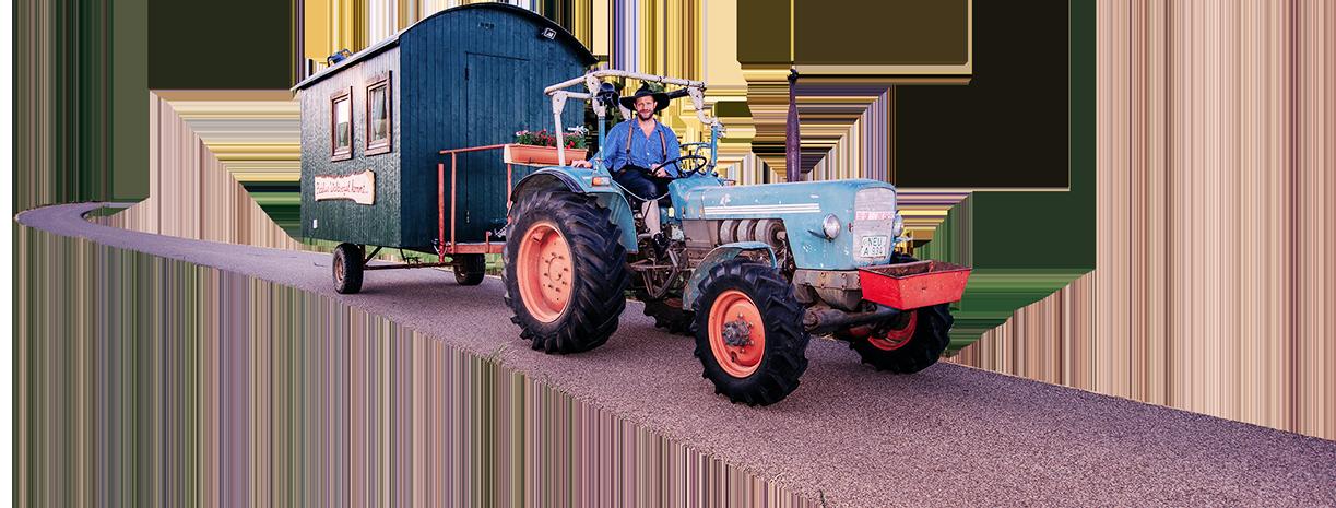 Traktor Fidelius Waldvogel - VON DAHEIM TOUR